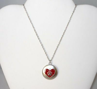 Always in My Heart Necklace - Memory Dog Cat Pawprint