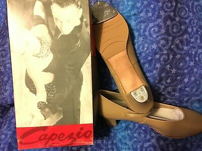 """NEW IN BOX Capezio """"Tap Jr. Lightfoot"""" Shoe, 561 in Caramel, Adult Sizes"""