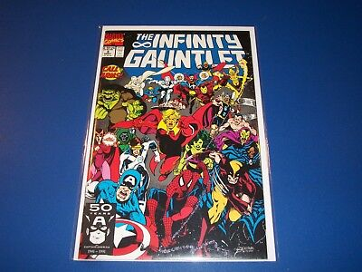 Infinity Gauntlet #3 Variant Thanos Avengers Spider-man NM- Beauty Wow Warlock