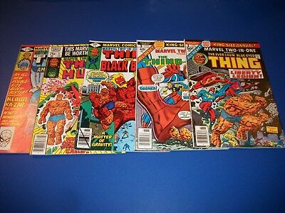 Marvel 2 in 1 Annual #1,3,4,5,6 Lot of 5 Fine to VF Beauties