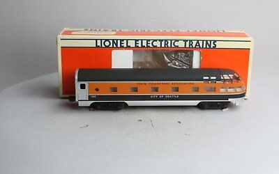 Lionel 6-52062 TCA 1995 Seatle Observation Car NIB