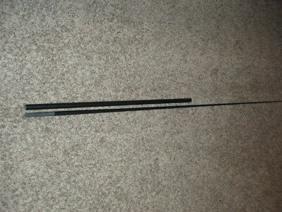"""Rod Building Wrapping Satin Black 80# Mod/Fast TUNA offshore blank 7'10"""" 2pc"""