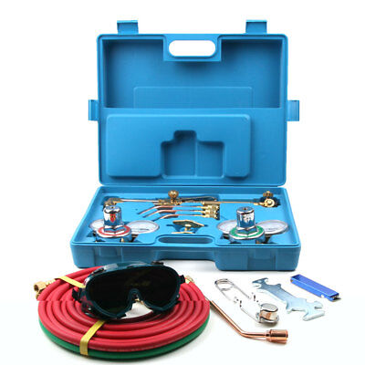 Professional Portable Torch Kit Set Oxygen Acetylene Oxy Gas Welding Cutting Kit