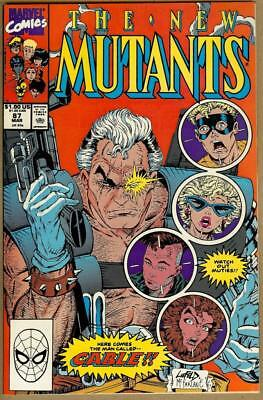 New Mutants #87 - 1st Appearance of Cable - 9.2 Near Mint-