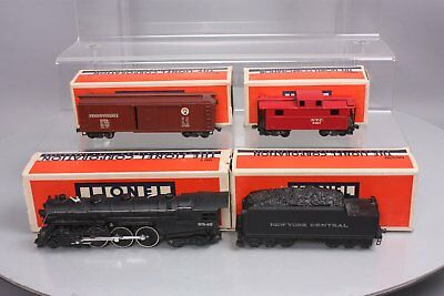 Lionel OO Scale Hudson Stream Loco, Tender & Freight Cars: 00, 002W, 0024, 0027