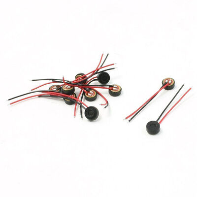 10pcs Electret Condenser MIC 4mm x 2mm for PC Phone MP3 MP4 PK I7K2