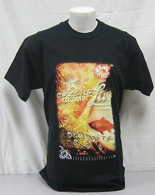 Counting Crows w/ LIVE Official Crew Shirt 2000 Concert Tour NEVER WORN XL band