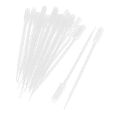 50 Pieces 10ml Clear Plastic Transfer Pipet Pasteur Pipettes Droppers PK T3V4