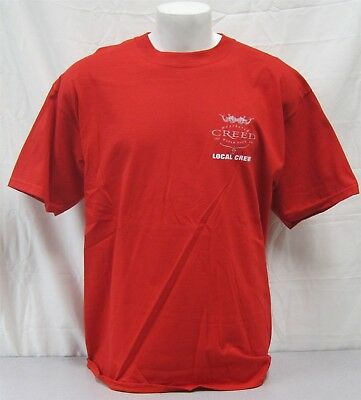 Creed Official Crew Shirt 2002 Weathered Tour NEVER WORN Mark Tremonti local XL