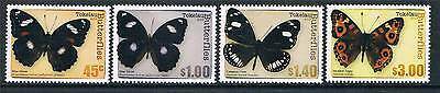 Tokelau 2013 Butterflies 4v set MNH
