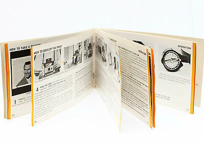 Polaroid 230 Automatic Instant Film Land Camera Manual Guide Instructions