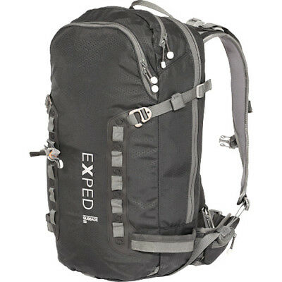 Exped Glissade 25 Mens Rucksack Snow Backpack - Black One Size