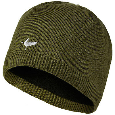 Sealskinz Waterproof Mens Headwear Beanie Hat - Olive All Sizes
