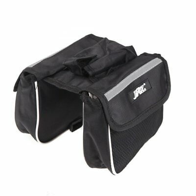 JSZ Cycling Bicycle Bike Frame Pannier Saddle Front Tube Bag Double Sides P H4T5