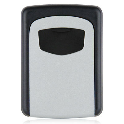 Wall Mounted 4 Digit Combination Key Storage Security Safe Lock Outdoor PK P5I4