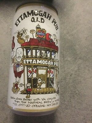 Ettamogah Pub Qld Grand Opening Nov 24th 1989 Beer Can (Unopened)/Wally Lewis