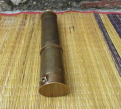 Brass Telescope 32 Inch Spy Glass Telescope With Direction Compass