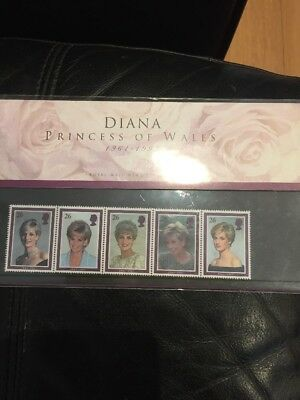 ⭐Diana Princess Of Wales Complete Stamp Collection⭐