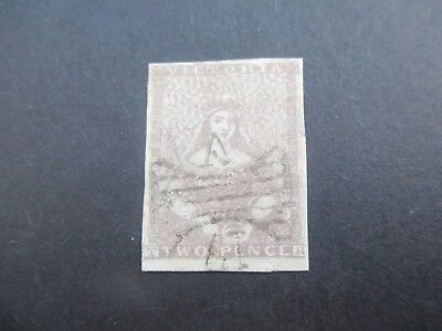 Victoria Stamps: Half Length Butterfly Cancel Used (A58)