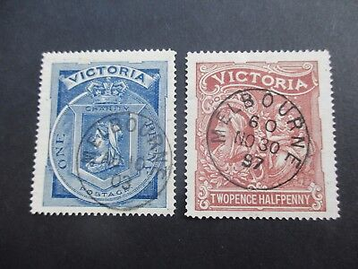 Victoria Stamps: 1897  Set Fine Used - Great Item  (A64)
