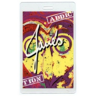 Jane's Addiction authentic 2002-2003 concert tour Laminated Backstage Pass Pink