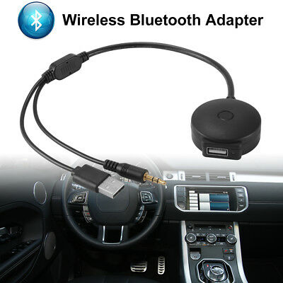 USB Cable w/ 3.5mm AUX to USB Bluetooth Music Adapter for BMW /Mini Cooper AC926