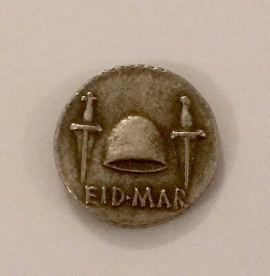 Ancient Roman Museum Quality Restrike Coin - Eid Mar - Denarious Head Of Brutus