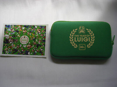 Club Nintendo The Year of Luigi Pouch / Case and Puzzle