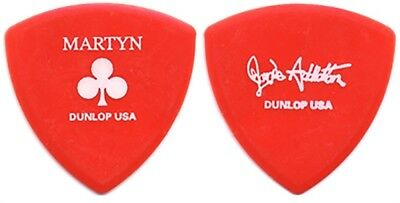 Janes Addiction Martyn Lenoble authentic 2002 tour issued custom Guitar Pick