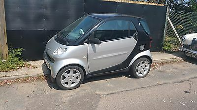 2004 Mcc Smart Fortwo - Black & Silver - Panoramic Roof, Leather, Spares/ Repair