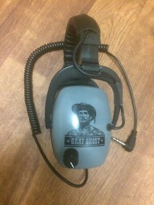 Gray Ghost NDT Metal Detecting Headphones by DetectorPro Excellent
