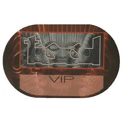Tool Authentic 2002 Lateralus Tour satin cloth Backstage Pass band VIP