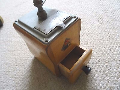 Vintage Pepe Dienes Mokka Coffee Grinder, Good Used Condition