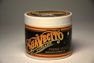 SUAVECITO Hair Pomade Firme/ Strong Hold 113g (4oz)