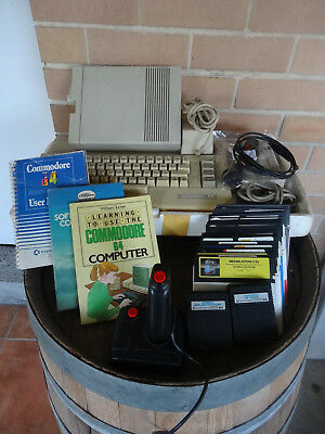 Commodore 64 Computer C64 Pack with Disk Drive + Games & Joystick