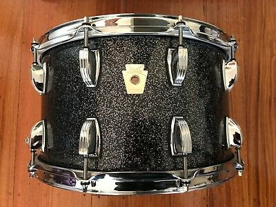 Ludgwig Classic Maple Black Galaxy 8X12 Snare drum