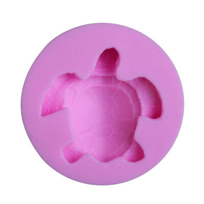 Sea Turtle Cake Decorating Tools Fondant Chocolate Pudding Silicone Cake Mold