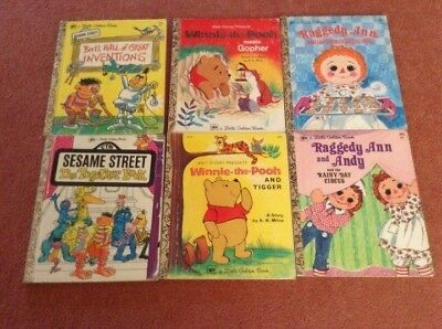 A Little Golden Book Vintage Books