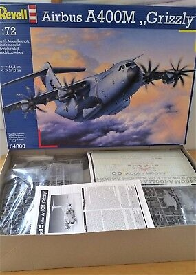 """Revell 1/72 Airbus A400M """"grizzly"""" - 04800"""