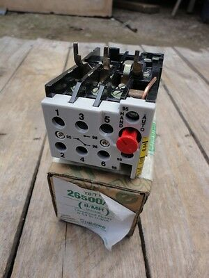 Crabtree Overload Relay  26500/dc  0.54-0.8A  See Photo's #d632