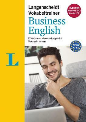 Langenscheidt Vokabeltrainer 7.0 Business English - DVD-ROM [Langenscheidt GmbH]