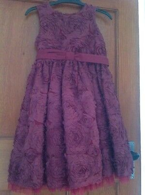 Beautiful Ted Baker Dress Age 7 Yrs.