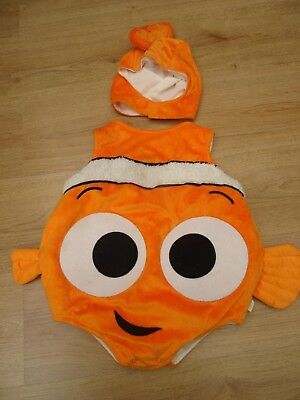 Baby Boys Or Girls Finding Nemo Fancy Dress Costume + Hat Halloween Party