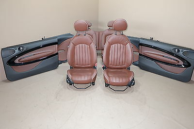 MINI Cooper R61 Leather Seats Interior Sitze Lederausstattung Red Copper