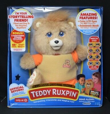 Teddy Ruxpin 2017 Original Outfit Target Exclusive Bluetooth Animated Bear Htf