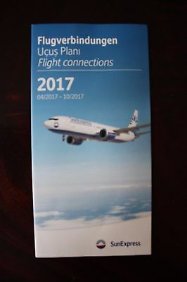 Timetable Flugplan Sunexpress 2017 Final Printed Version