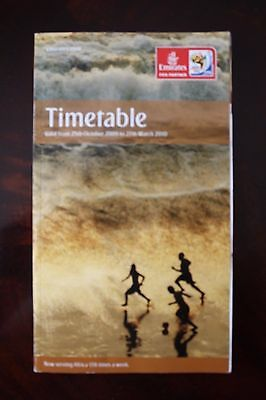 Timetable Flugplan Emirates Airlines 2009/2010