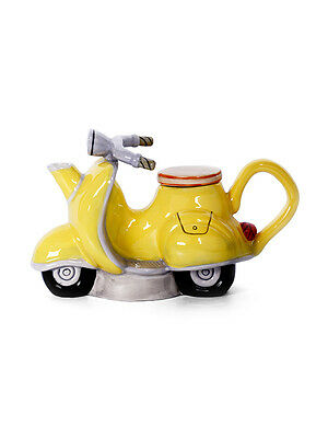 Decorative Functional Collectable Scooter Teapot Tea Pot Retro