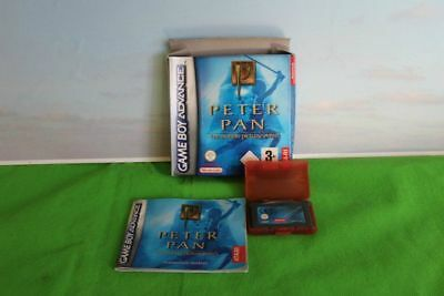 Game Boy Advance Peter Pan Nintendo Boxed  Instruction And Cartridge