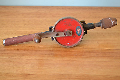 Vintage Hand Drill  Old Tool NBL antqiue